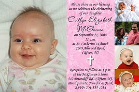 christening background invitation index of