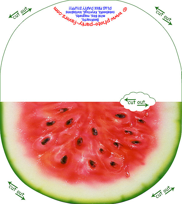 picture relating to Watermelon Printable identify Totally free Printable Watermelon Observe Card - In opposition to Image Social gathering Favors